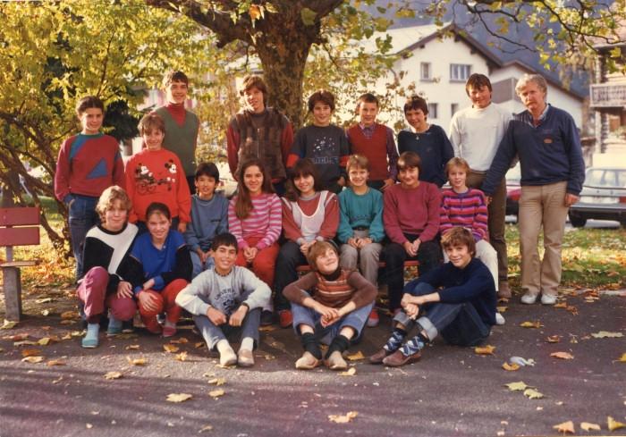 Mittel-Oberstufe 1986