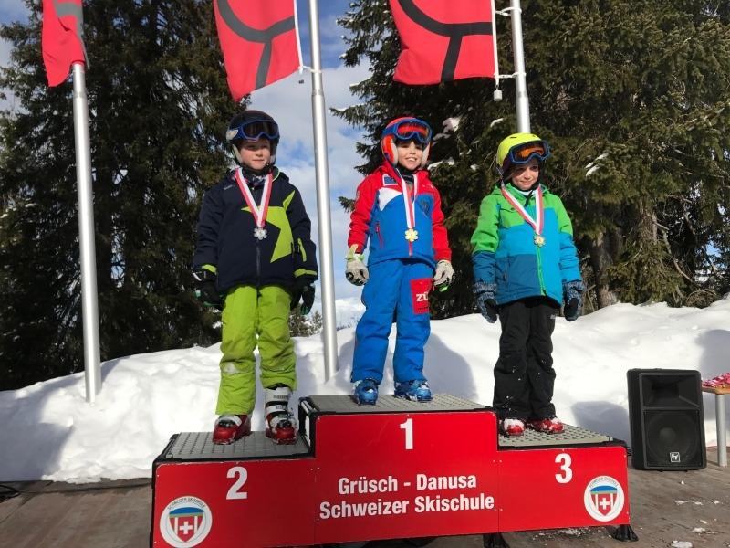 Skirennen-2018 Knaben 1-2